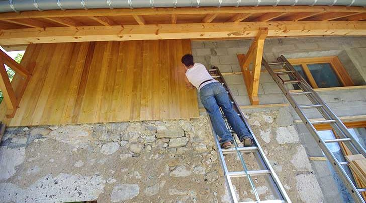 Photo of Construction en bois et bardage