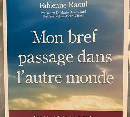 Photo of Mon bref passage dans l'autre monde de Fabienne Raoul chez Leduc.s Éditions