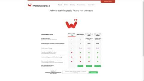 Photo of WebCapella sort sa dernière version appelée Fx en parallèle de Grid déjà paru