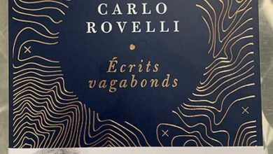 Photo of Écrits vagabonds de Carlo Rovelli chez Flammarion