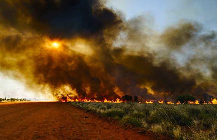 Photo de Le vent transporte les fumées des incendies d'Australie à plus de 12000 km