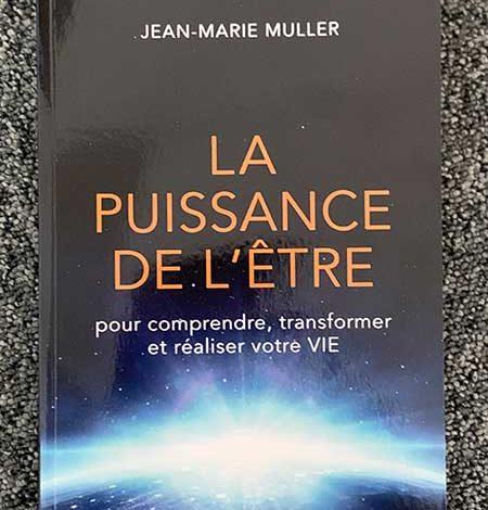 Photo of La puissance de l'être de Jean-Marie Muller chez Guy Trédaniel