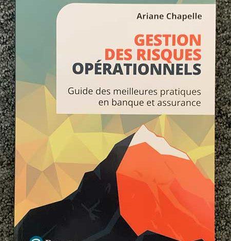 Photo de Gestion des risques opérationnels d'Ariane Chapelle, chez Pearson
