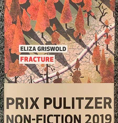 Photo de Fracture d'Eliza Griswold chez Editions Globe