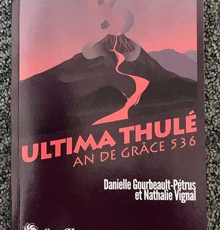 Photo de Ultima Thulé de Danielle Gourbeault-Pétrus et Nathalie Vignal chez Souffles Littéraires