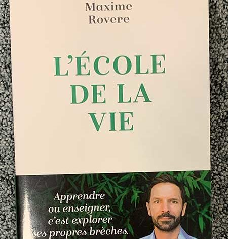 Photo de L'école de la vie de Maxime Rovere chez Flammarion