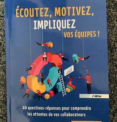 Photo de Ecoutez, motivez, impliquez vos équipes par Stéphane Simard chez Gereso